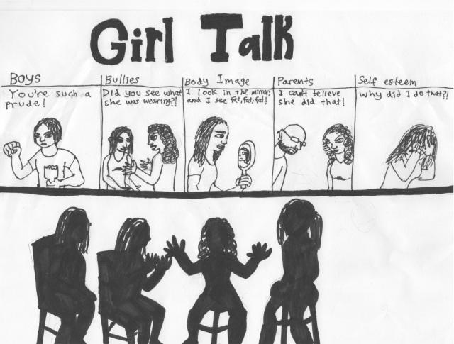 girl talk cartoon 2015-2